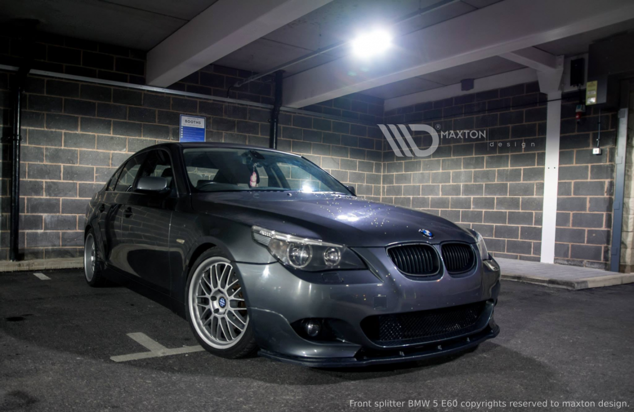Front Splitter Bmw 5 E60 M Pack Maxtondesign Ireland