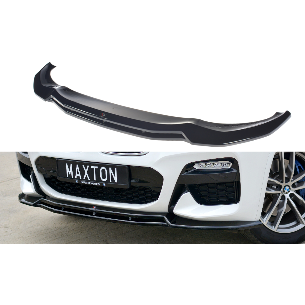 x3 abs  Front Lip Bumper Splitter for bmw x3 2018-up style